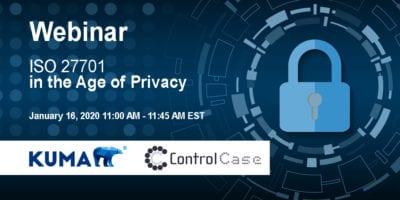 ISO 27701 In the Age of Privacy - Webinar