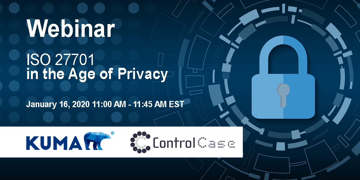 ISO 27701 In the Age of Privacy – Webinar