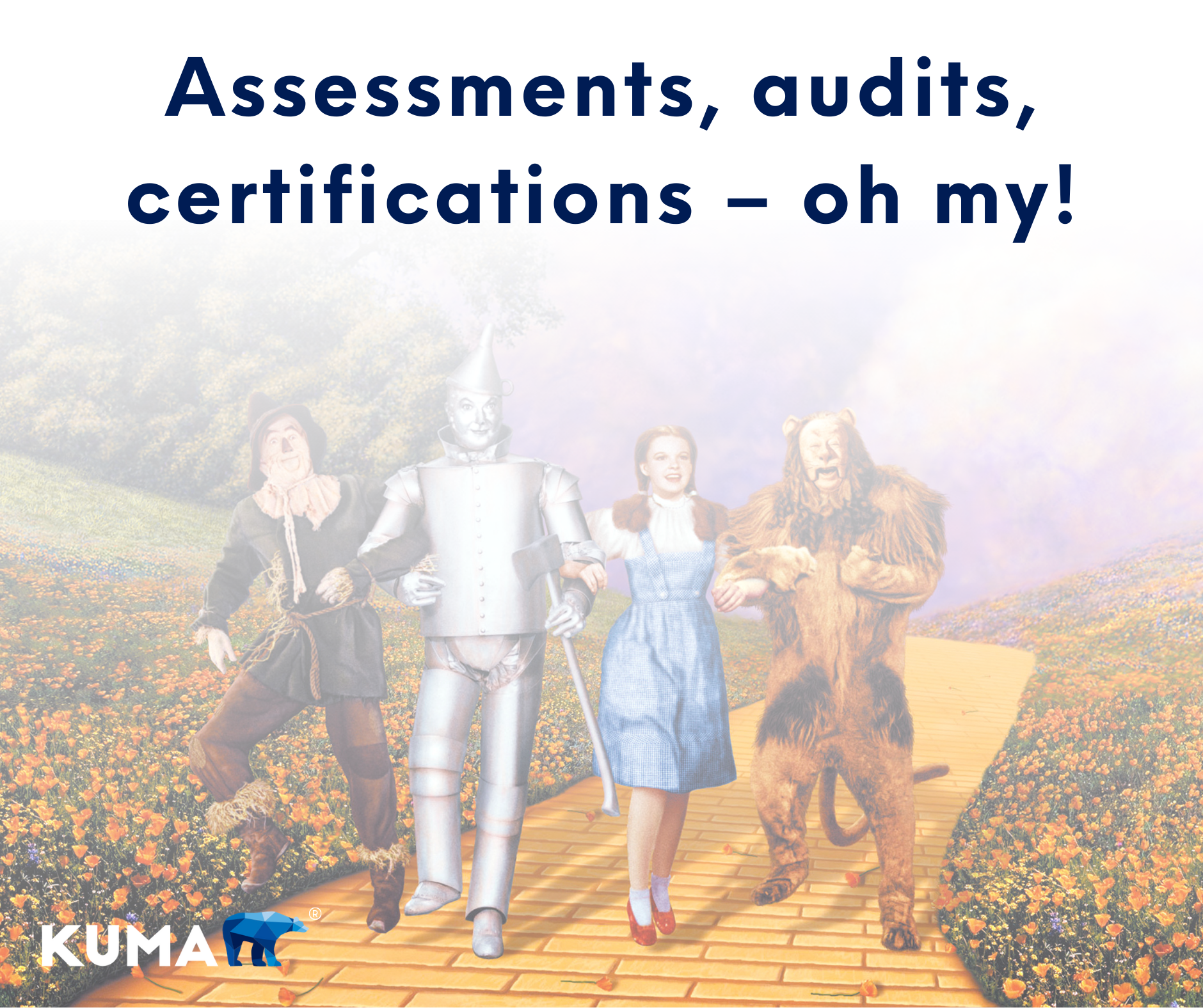 Assessments, Audits, Certifications – Oh My!